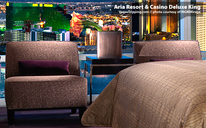 ARIA Resort & Casino CityCenter Las Vegas Deluxe King Rooms - Chairs