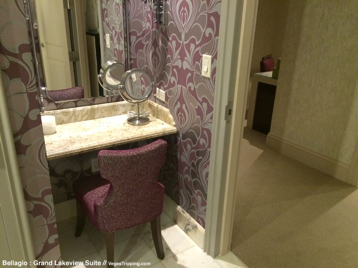 Bellagio Grand Lakeview Suite Review Bathroom 5