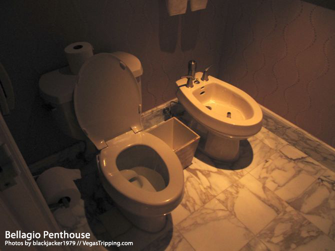 Bellagio Penthouse Bidet