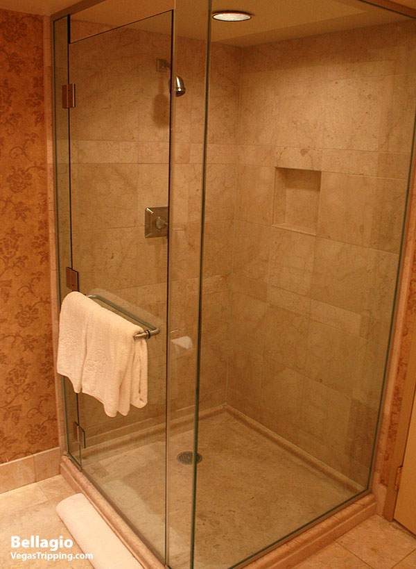 Bellagio Review Shower