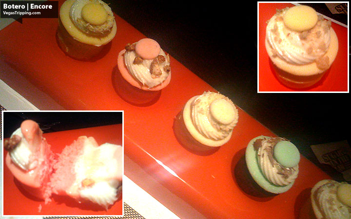 Botero Steak at Encore Las Vegas - Ice Cream Cupcakes