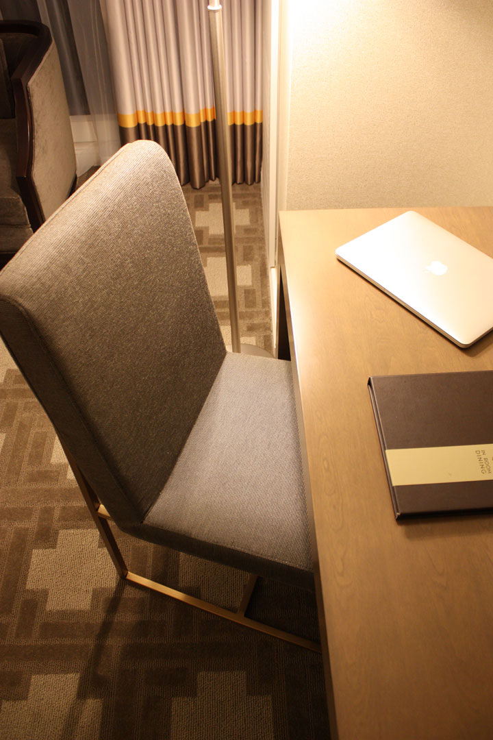 Caesars Palace Julius Tower Hotel Room Review Desk Chair