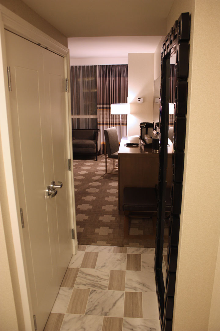 Caesars Palace Julius Tower Hotel Room Review Entry