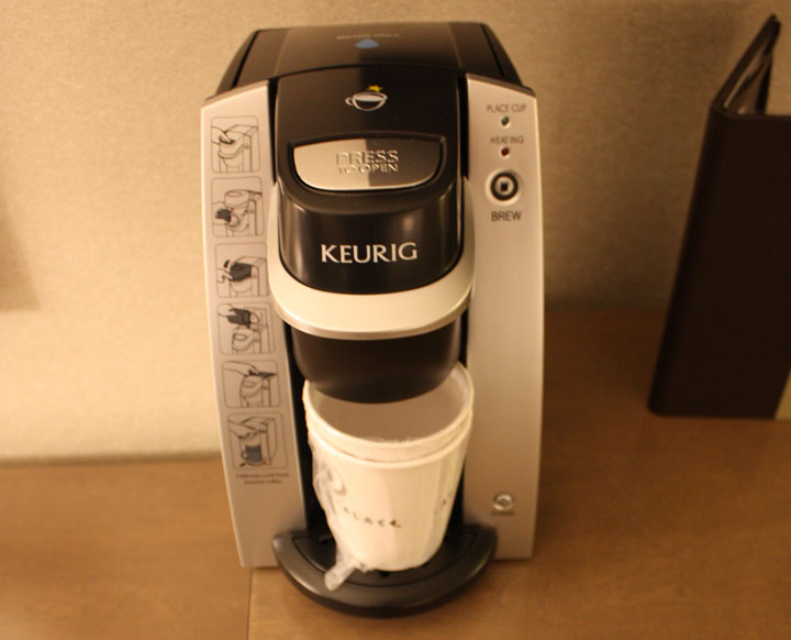 Caesars Palace Julius Tower Hotel Room Review Keurig