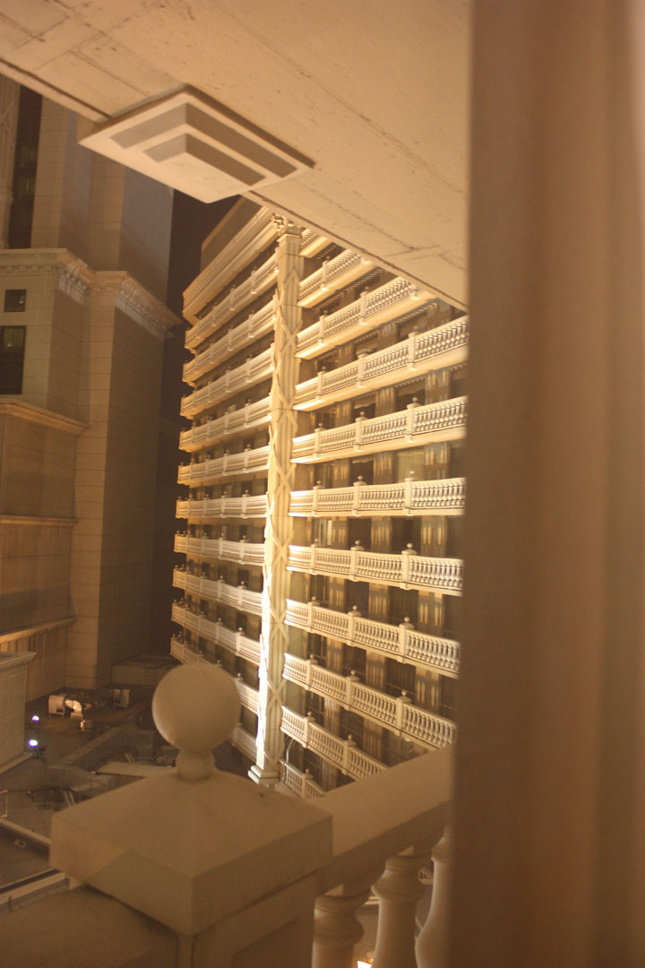 Caesars Palace Julius Tower Hotel Room Review View 2