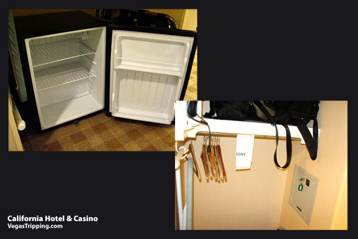 California Hotel Casino Review Closet