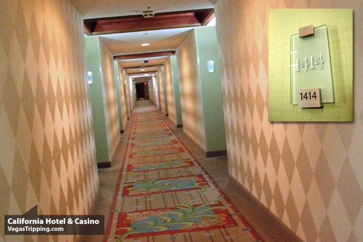 California Hotel Casino Review Hallway