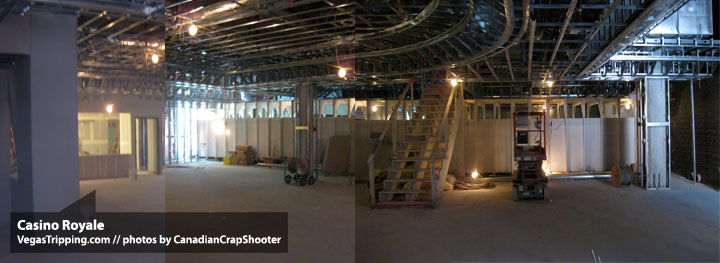 Casino Royale Review Construction Interior
