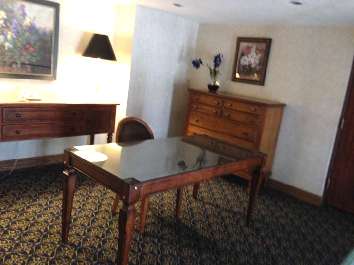 Circus Circus Executive Suite 1410 Desk