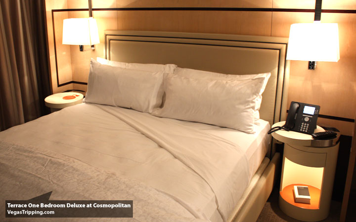 Cosmo Terrace Bed. The Cosmopolitan Terrace One Bedroom Suite   The VT Soft Review