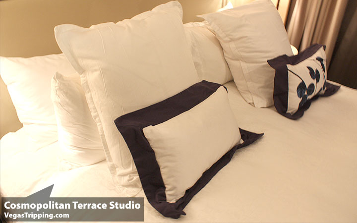 Cosmo Terrace Studio Bed2