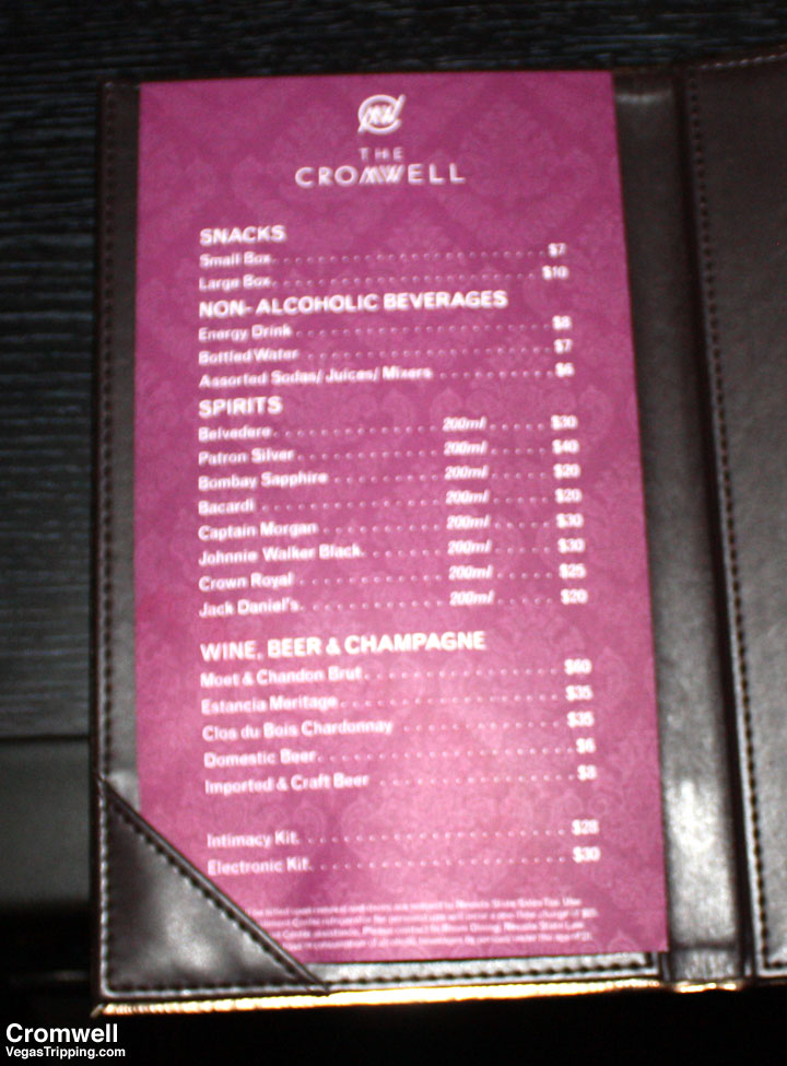 Cromwell Las Vegas Deluxe Room Review 2015 Pricelist