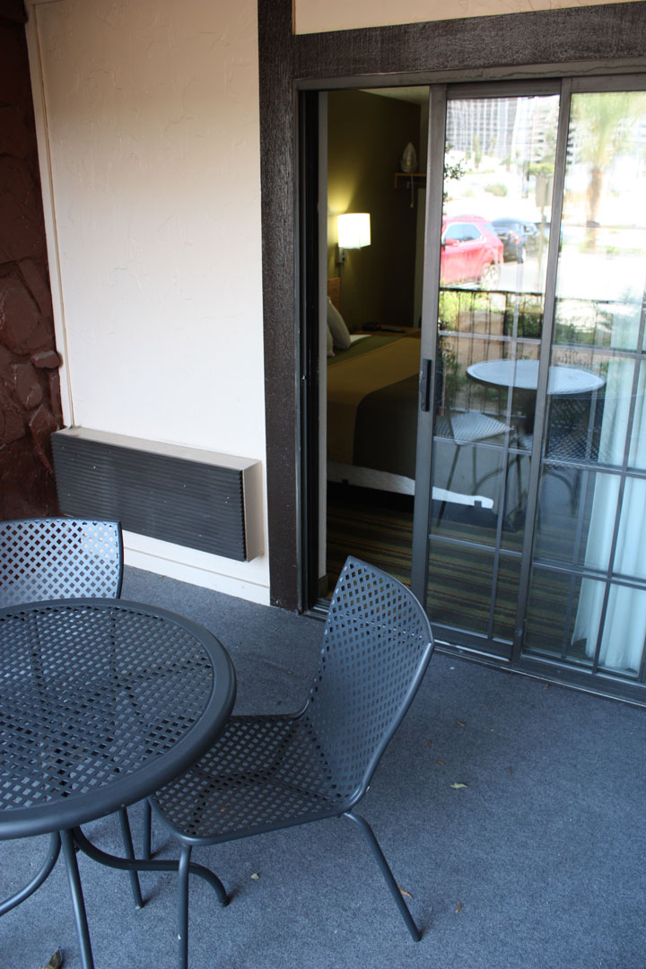 Ellis Island Super8 Review Patio2