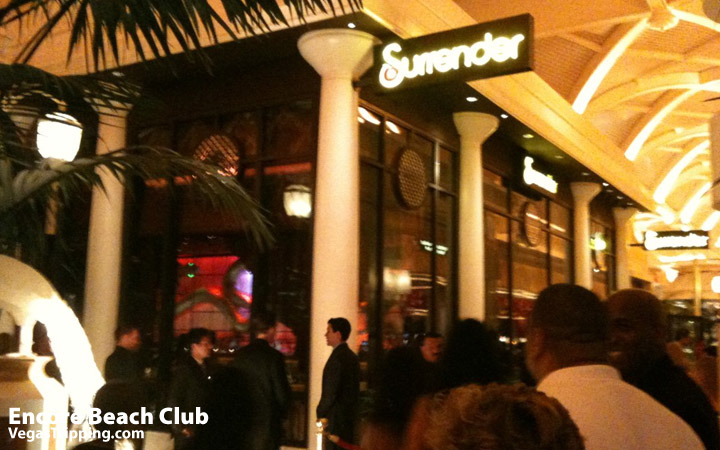 Encore Beach Club - Surrender Nightclub Photo Surr Entr