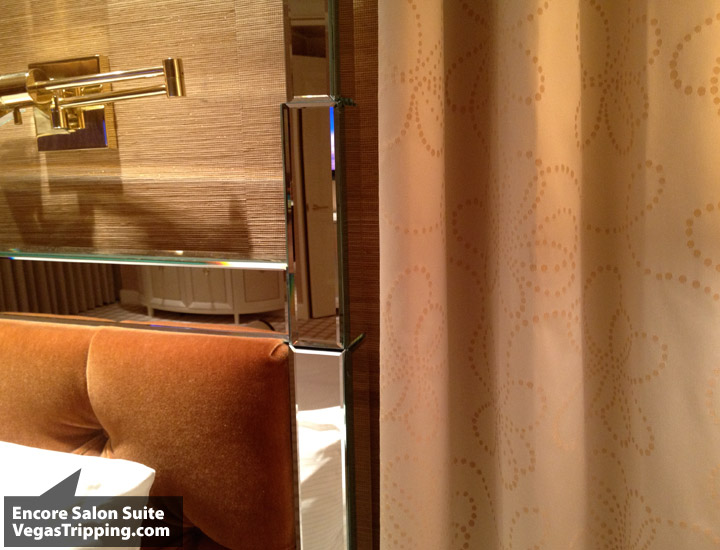 Encore Salon Suite Review - Headboard