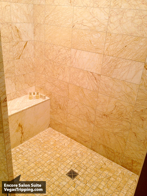 Encore Salon Suite Review - Shower
