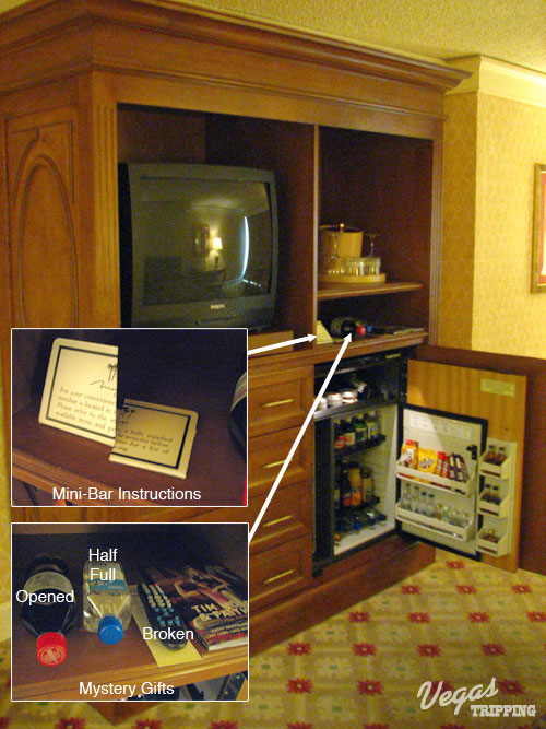 Mirage Las Vegas Hotel Review Armoire