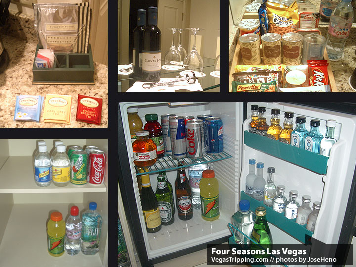 Four Seasons Las Vegas Review :  Minibar