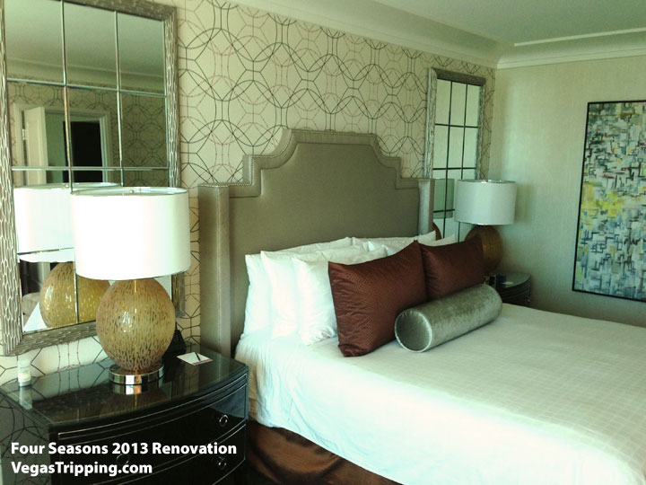 Four Seasons Las Vegas Suite Review Renovations 2013 Pillows