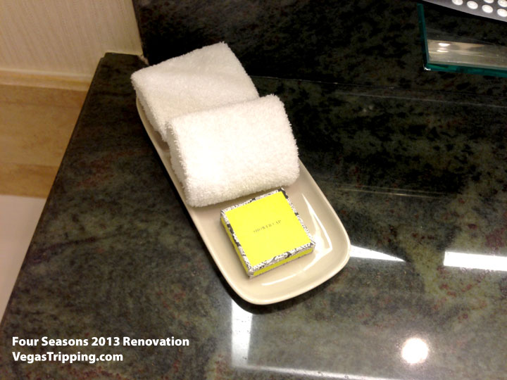 Four Seasons Las Vegas Suite Review Renovations 2013 Showercap