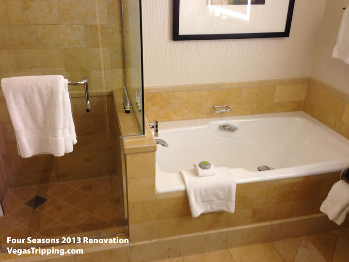 Four Seasons Las Vegas Suite Review Renovations 2013 Stub