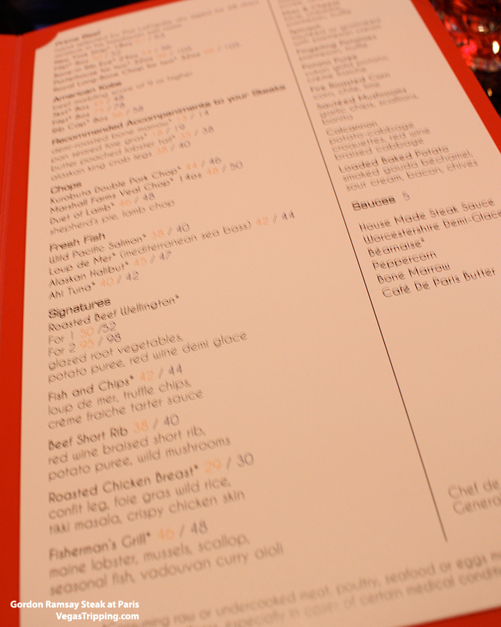 Gordon Ramsay Steak Menu2
