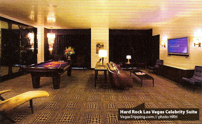 Hard Rock Las Vegas Celebrity Suites