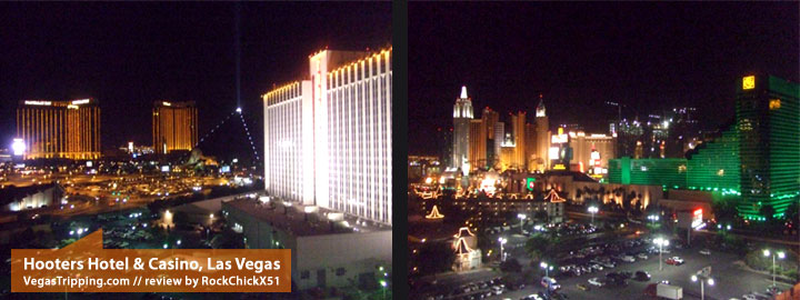 Hooters Hotel & Casino Las Vegas Review - View of Mandalay Bay