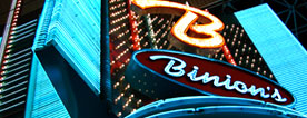 Binion's Closed Hotel & Open Gambling Hall