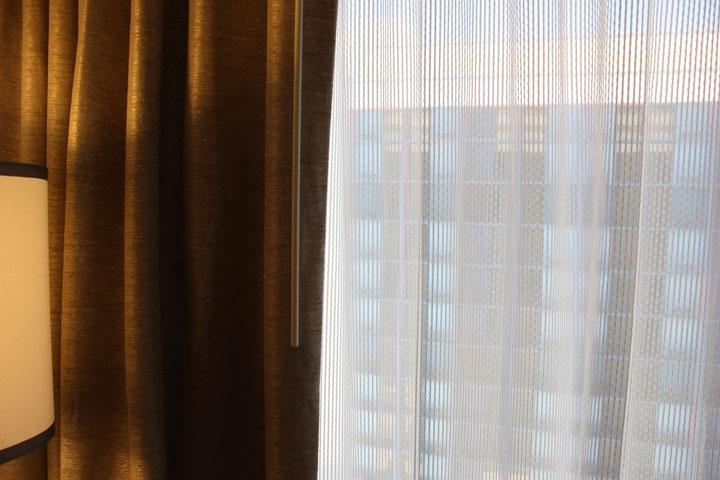 LINQ Hotel & Casino Room Review Curtains