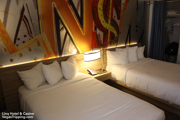 LINQ Hotel & Casino Room Review Dual Queens