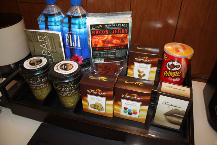 Mandalay Bay 2015 Minibar Snacks