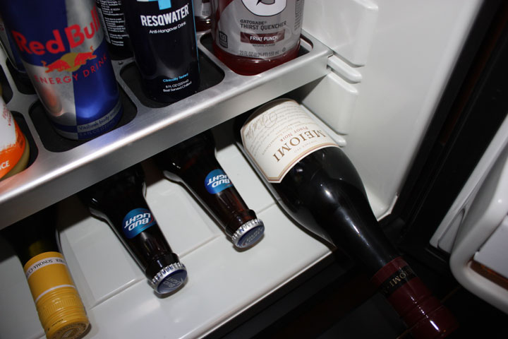 Mandalay Bay 2015 Minibar Wine Red