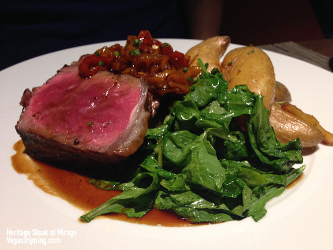 Mirage Heritage Steak Review Tom Colicchio