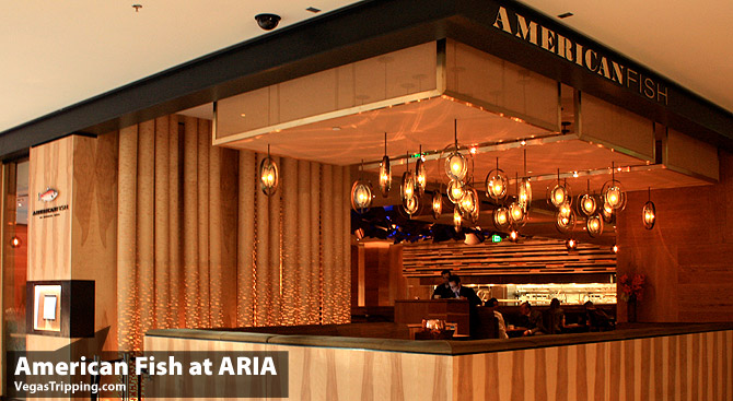 Michael Mina's American Fish at Aria Resort Casino Las Vegas Review