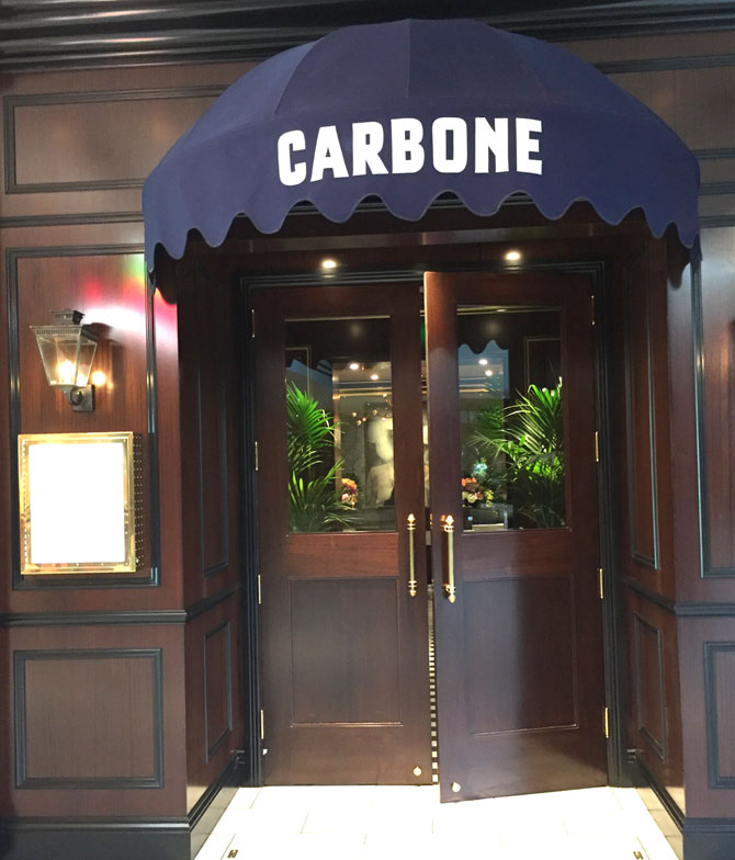 Aria Carbone Door