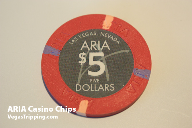 Aria Casino Chips 5 dollar