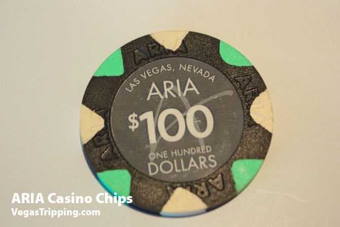 Aria Casino Chips 100 dollars
