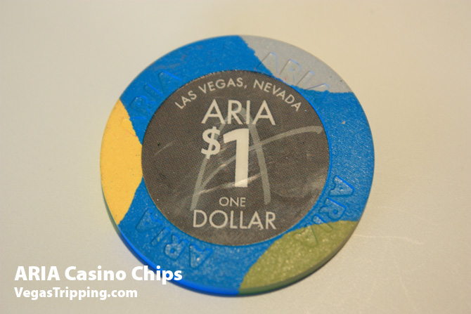 Aria Casino Chips 1 dollar