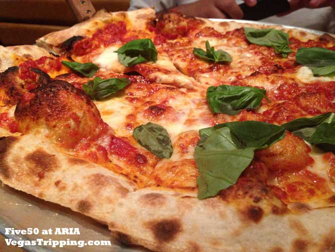 ARIA Five50 Pizza