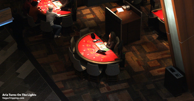 ARIA Casino Floor