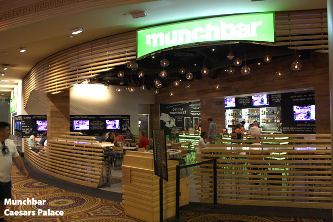 Caesars Palace Munchbar Review