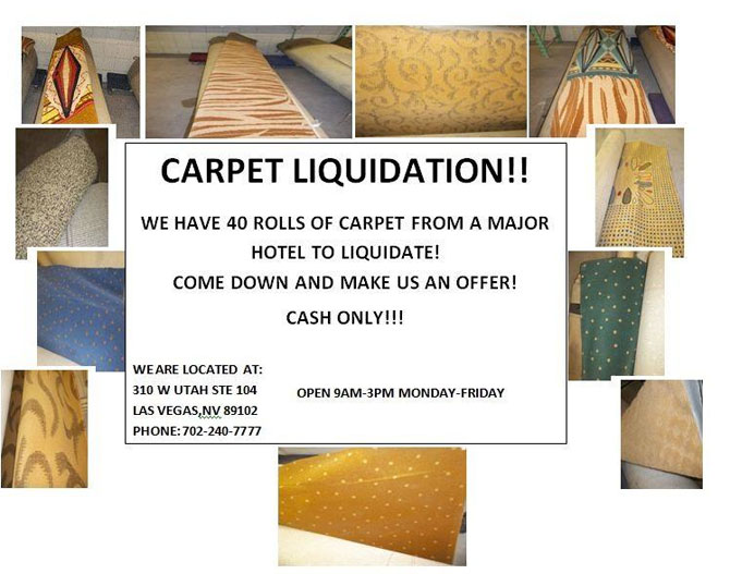 Carpet Liquidation