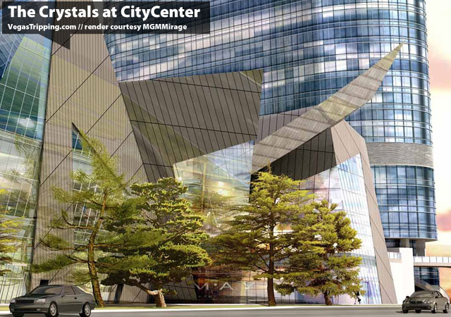 Citycenter Crystals Angles