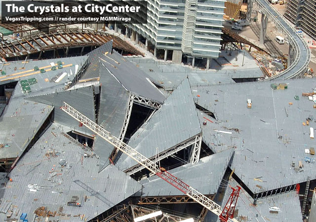Citycenter Crystals Mess