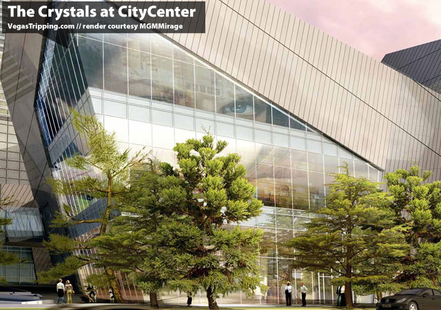 Citycenter Crystals Project