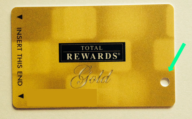 players rewards card casinos