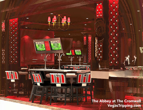 The Abbey Gaming Salon at The Cromwell