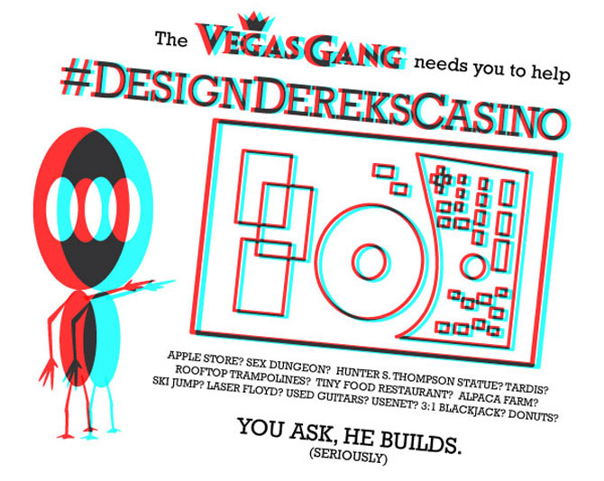 Design Derek's Casino Las Vegas Club