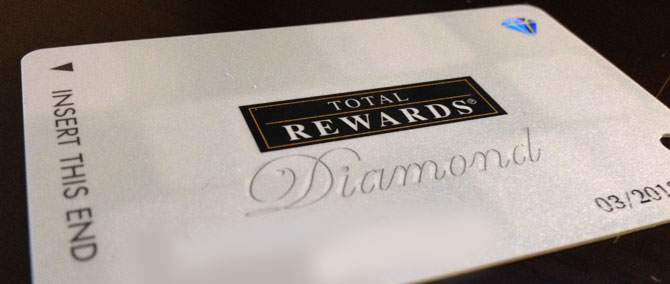 Caesars Total Rewards Diamond In A Day